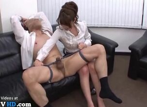 Rough office sex