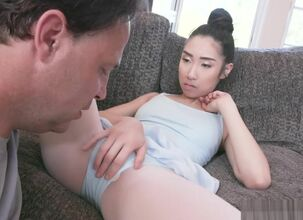 Petite asian hot wife loves cock