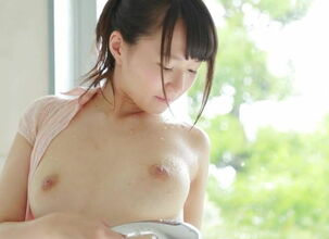 Japanese girl shower